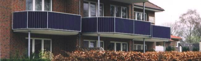 Balkonverkleidung M Brauer Gmbh Oldenburg