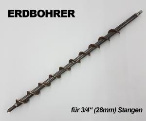 Erdbohrer für Camping Bodenhülsen M. Brauer GmbH Donnerschweer Str. 299 26123 Oldenburg