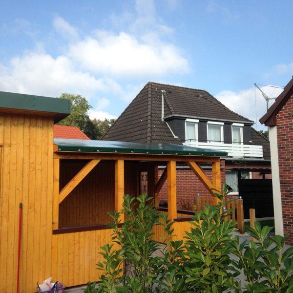 Terrassenverkleidung / Terrassendach