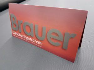 M. Brauer GmbH Geschenkgutschein